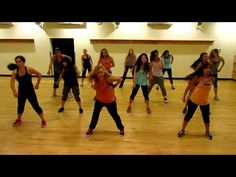 """""""Thrift Shop"""" Dance Fitness class with Medora.why am I loving this song in Zumba class! Best Workout Videos, Dance Workout Videos, Zumba Routines, Zumba Workouts, Dance Fitness Classes, Zumba Fitness, Zumba Videos, Heath And Fitness, I Work Out"""