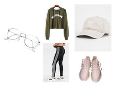 """""""Lazy"""" by isablund on Polyvore featuring adidas"""
