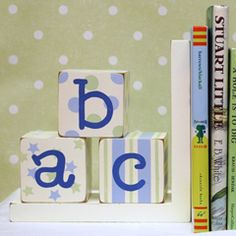 Bookends - Bella Nursery Decor $50