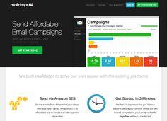 Send Affordable Email Campaigns via Amazon SES - MailDropr.com