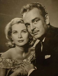 Princess Grace and Prince Rainier, beautiful couple