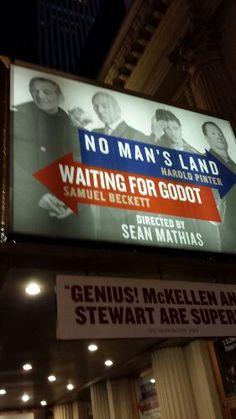 No Man's Land starring Ian McKellen, Patrick Stewart, Billy Crudup and Shuler Hensley (Broadway Review)