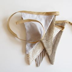 bunting in any fabric
