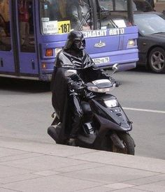Whats A Sith To Do When His Tie Fighter's In The Shop?