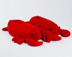 Lobster Slippers | Animal Slippers | BunnySlippers.com