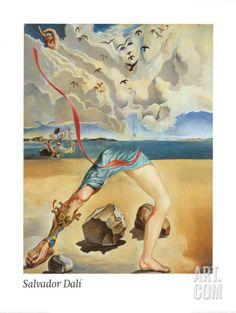Untitled, c.1942 Art Print by Salvador Dalí at Art.com