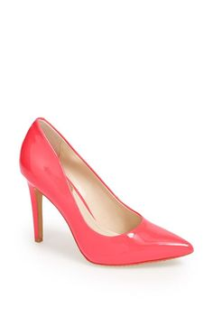 This pink Vince Camuto pump is sure to stop traffic!
