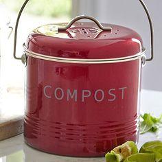 Die Biotonne wird 2015 Pflicht in Deutschland. Und so ein schicker Komposteimer macht das Sammeln stinkiger Abfälle in der Küche doch gleich viel appetitlicher.