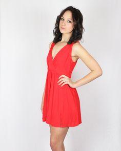 Cassette Society Fast Love High Split Mini Dress  @BIRDMOTEL Store