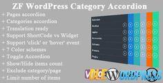 ZF WordPress Category Accordion v1.9 Free at DLEWordPRess