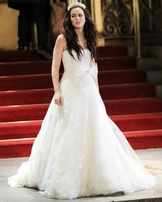 The Top 20 TV Fashion Moments This Season — #GossipGirl: Blair's Wedding Gown. http://www.instyle.com/instyle/package/general/photos/0,,20164507_20596273_21161498,00.html#