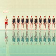 Imágenes sincrónicas capturadas en piscinas de la URSS por la fotógrafa Maria Svarbova