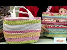 Bag Tutorial from Carol McLeod of Aunties Two - YouTube