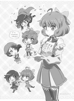 Penny and Chibis