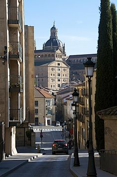 Salamanca, Spain I literally walked down this street every day for 5 weeks