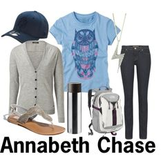 annabeth chase costume | Annabeth Chase - Polyvore