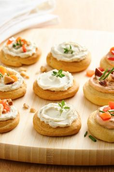 Slice and top Pillsbury crescent rounds with your favorite toppings for appetizer nirvana!