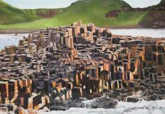 Causeway Coast Headland - Paintings