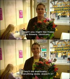 Optimism ('Peep Show'; Jez)