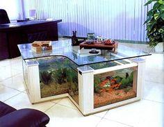 Decoraciones con acuarios