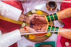 The beautiful rituals of Maharashtrian Destination Wedding at Nashik in Sule Vineyards. Mehendi Photography, Indian Wedding Couple Photography, Marathi Bride, Marathi Wedding, Wedding Poses, Wedding Couples, Wedding Bride, Bridal Makeup Images, Bridal Hairstyle Indian Wedding