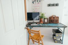 Our Office Pack looking great! Scaramanga Vintage Office Furniture + photosbyzoe https://www.scaramangashop.co.uk/item/8733/2/New-In/Vintage-Office-In-A-Pack.html