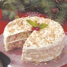 Pennsylvania Dutch Black Walnut Cake, A Thanksgiving Tradition