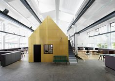 Halle A offices by Designliga, Munich - Germany