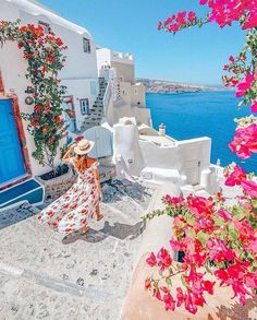Vacation Places, Dream Vacations, Vacation Spots, Beautiful Places To Travel, Wonderful Places, Romantic Travel, Photos Voyages, Santorini Greece, Crete Greece