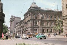 Ulica Basztowa. Kraków, 1978 rok.