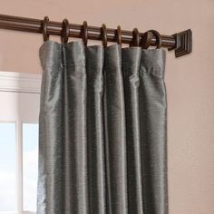 House of Hampton Cervandon Single Curtain Panel & Reviews | Wayfair