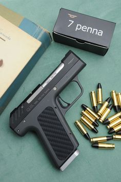 negative-corpus:  Can anyone tell me more about this firearm? Its a *(corrected) Q.S.Armi Nemesis chambered in7penna (7x23). Its a prototype best I can tell.      (via TumbleOn)