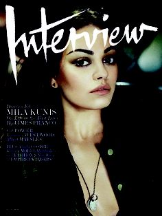 Mila Kunis Interview Cover August 2012