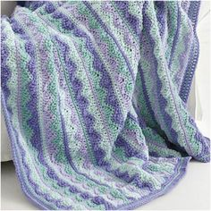Unique crochet summer throw full of colors. Download now written pattern in PDF…