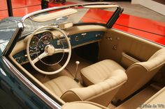 mercedes benz 190 sl interior - Cerca con Google