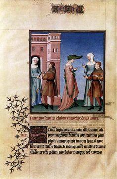 MINIATURIST, French Plays by Terence 1410-15 Manuscript (Ms. lat. 664), 335 x 240 mm Bibliothèque de l'Arsenal, Paris