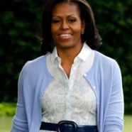 Michele Obama in Boy. by Band of Outsiders.