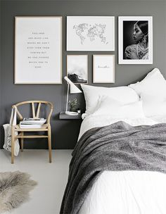 Black bedroom sets modern