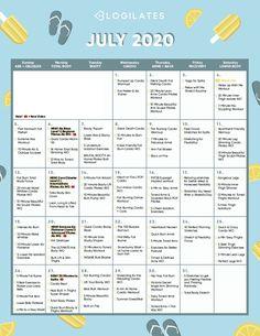 The Blogilates July 2020 Workout Calendar! – Blogilates July Workout Challenge, Month Workout, Push Up Challenge, Workout Schedule, Blogilates Calendar, Workout Calendar, Outdoor Workouts, At Home Workouts, Personalised Calendar