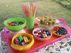 Get ideas, tips and potluck recipes for a summer picnic party on HGTV.com.