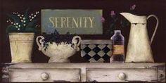Serenity Poster Print by Jill Ankrom (20 x 10)