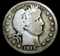 1913 D 25C Barber Silver Quarter Dollar Key Date Better Grade Make Us An Offer $
