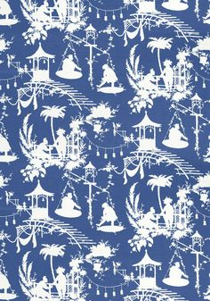 Chinoiserie Chic: Introducing Thibaut's South Sea