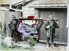 Fotos fantásticas do Japão no século 19, datadas provavelmente por volta de 1886 , feitas pelo fotógrafo italiano Adolfo Farsari.