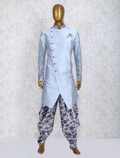 Mens Sherwani and Indowestern Mens Indian Wear, Mens Ethnic Wear, Indian Groom Wear, Sherwani Groom, Mens Sherwani, Wedding Dresses Men Indian, Wedding Dress Men, Kurta Men, Mens Kurta Designs