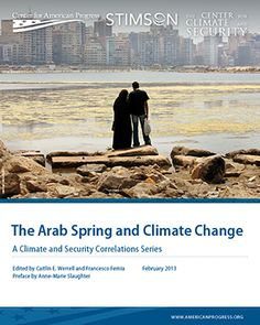 Overview of climate change influence on political instability in some countries - The Arab Spring and Climate Change - Think Progress
