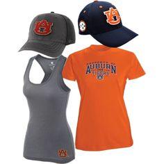 """""""Auburn Tigers Fan Gear"""" on Polyvore"""