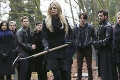 Emma Swan laying Neal to  rest