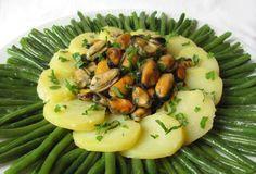 Insalata di fagiolini patate e cozze….