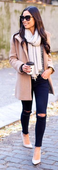 The latest selection of casual fall outfits you can wear everyday this season. More outfit ideas curated every week just for you. Stylish Winter Outfits, Casual Fall Outfits, Fall Winter Outfits, Autumn Winter Fashion, Winter Wear, Winter Style, Casual Winter, Casual Wear, Cozy Winter